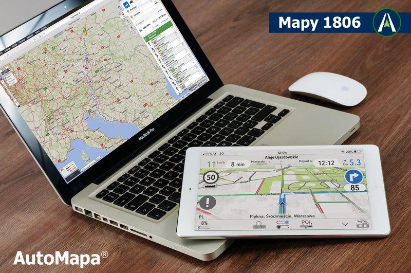 Automapa Udostepnia Najnowsze Mapy Polski I Europy Przygotowane Na