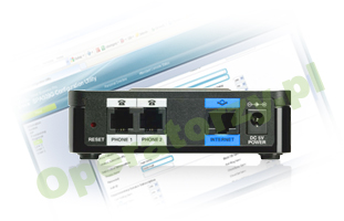 Cisco SPA 112 nowy interfejs