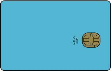Karta SIM - pełny wymiar